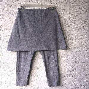 Gray workout pants